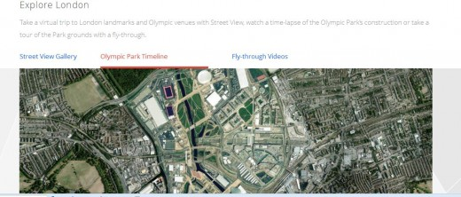 GoOlympics5 520x222 Google launches online London Olympics hub, reeling in content from across all its products