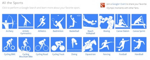 Golympics4 520x210 Google launches online London Olympics hub, reeling in content from across all its products
