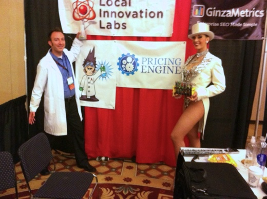 LiL Expo Booth w Kagan and Showgirl 1 Forget the geeks, learn about your company by going where your customers are