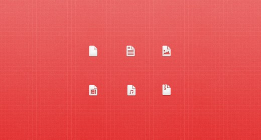 Media Icons PSD 520x280 Size matters: 21 Gorgeous petite icon sets crafted by pixel perfect designers