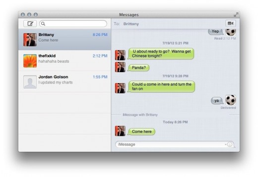 Messages window 2 520x358 TNW Review: OS X 10.8 Mountain Lion