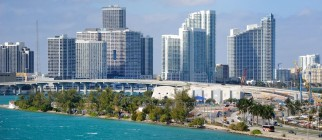 Miami skyline via Pond5