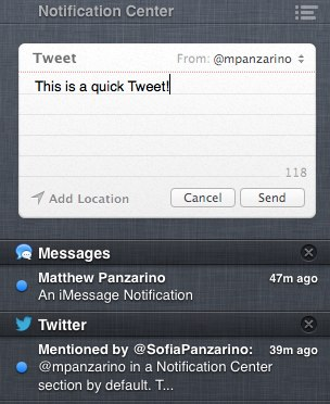 NC Tweet Sheet TNWs Complete Guide to Notifications in OS X 10.8 Mountain Lion