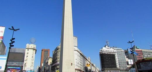 Obelisk of Buenos Aires by david berkowitz