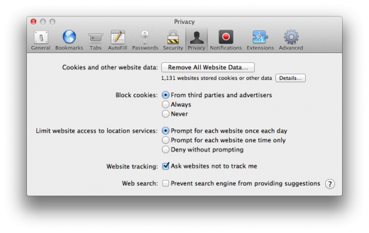 Safari do not track 520x329 TNW Review: Safari 6.0 is the best version of Apples browser yet
