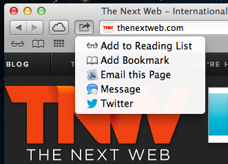 Safari share out TNW Review: Safari 6.0 is the best version of Apples browser yet