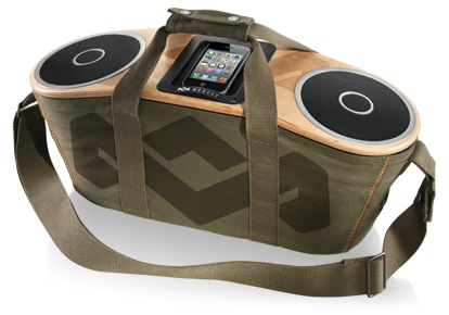 Screen Shot 2012 07 27 at 3.56.46 PM The Bag of Rhythm is a stellar sounding, modern day boombox, just add an iPhone