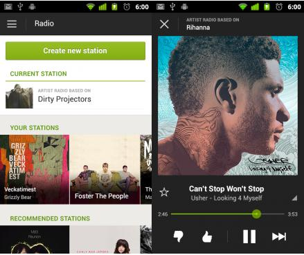 Screenshot 13 Spotify rolls out mobile radio for Android