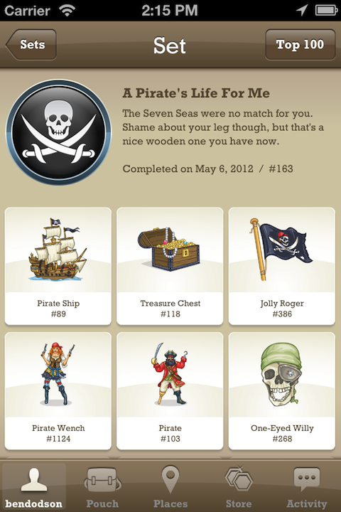 TTTT 6 Set WallaBee, the great digital collectibles game for iPhone, gets a massive update