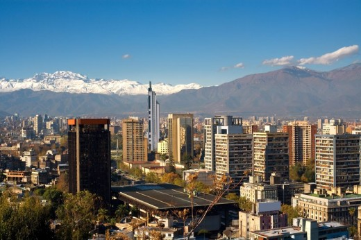View of Santiago de Chile via Pond5 520x346 Issue v0.7: 18 Latin American Tech Hubs You Should Know