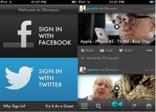 a23 520x374 Showyou rolls out redesigned iPhone app, with new social video feed and sharing features