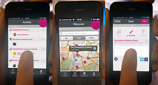 artspotter520 copy ArtSpotter app launched out of beta to mark the London 2012 Festival