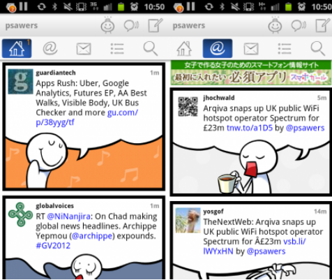 b TNW Pick of the Day: Feel On turns your Twitter stream into colorful comics