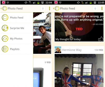 b16 TNW Pick of the Day: Pictarine lands on Android to let you view and manage all your online photos
