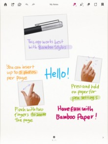 bamboopaper 220x293 10 incredible iPad apps for education
