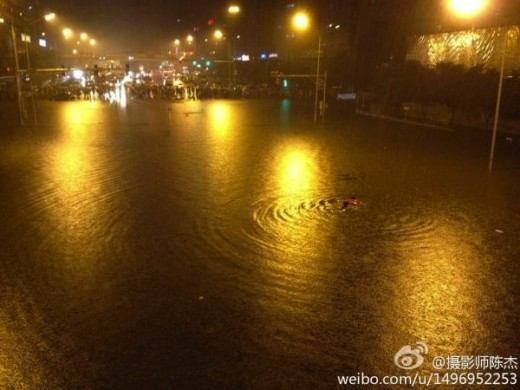 beijingflood 520x390 Last Week in Asia: Sina Weibo helps battle Chinese floods, Microsoft opens accelerator in India and more