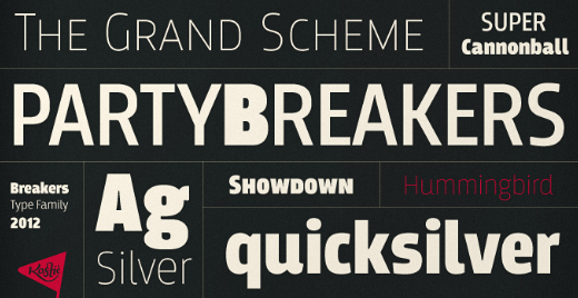 breakers 30 new typefaces released last month that you need to know about (July)