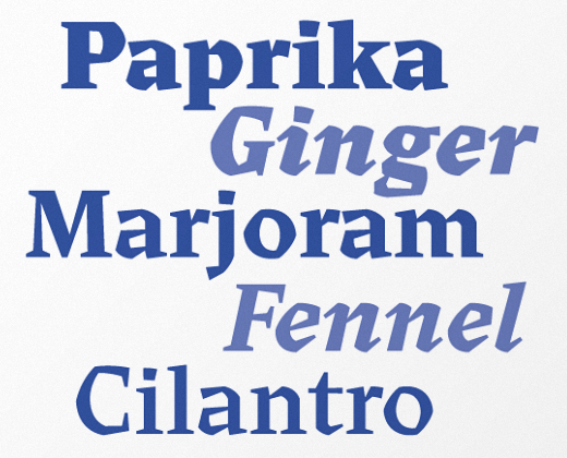 cedar 30 new typefaces released last month that you need to know about (July)