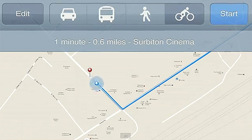 cyclemaps Google teams up with Sustrans to provide safer cycling routes for Google Maps users in the UK