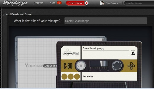 d2 520x302 Mixtaping.FM does a good job of reimagining the mix tape for the digital generation