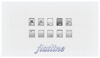flatline 32px by phs2 d31me95 Size matters: 21 Gorgeous petite icon sets crafted by pixel perfect designers