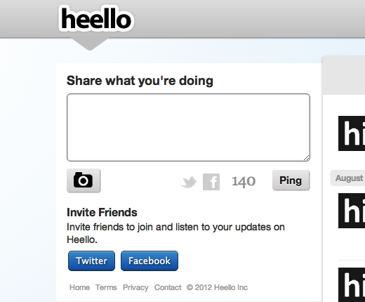 heello Twitpic founder quietly launches Helpmint, seems to have abandoned would be Twitter rival Heello