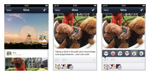 line updates 520x260 Asian mobile messaging service Line embraces apps and opens an API for its 45m user strong platform