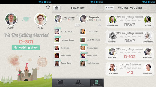 mm520 MerryMarry launches app for everyone invited to your wedding