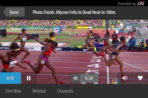 Wow, if youve got an iOS or Android device, you can stream all of the 2012 Olympics Live
