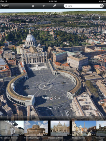 Google Earth for iOS updated with 3D imagery of 5 cities, with more on the way