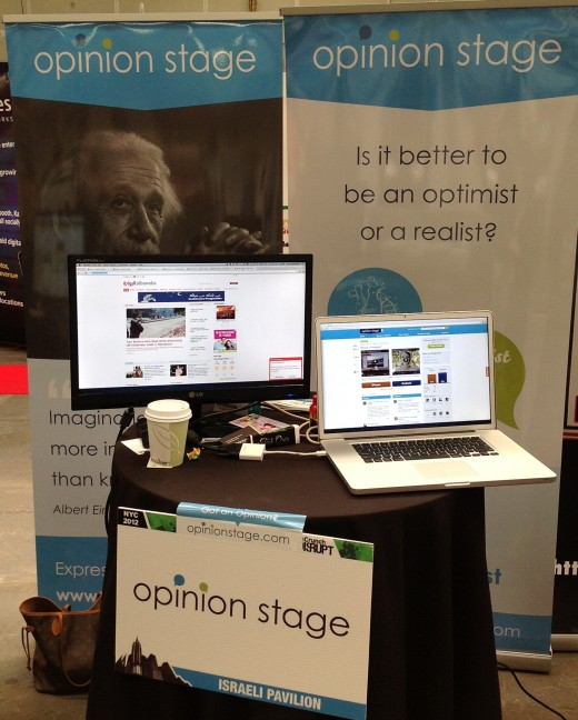 opinion stage booth 520x648 Opinion Stages widget lets you add debates to your site