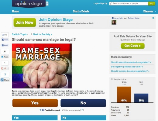 Same sex marriage websites
