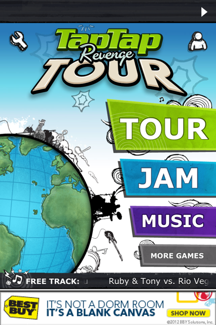 photo 12 Tap Tap Revenge comes roaring back with brilliant new revamped version called Tour