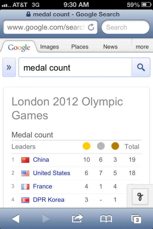 photo 7 520x780 Olympic tip: Google medal count and keep yourself updated