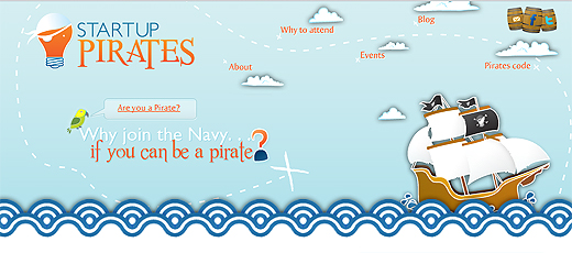 pirates520 Startup Pirates supports 1000 entrepreneurs setting sail with their business