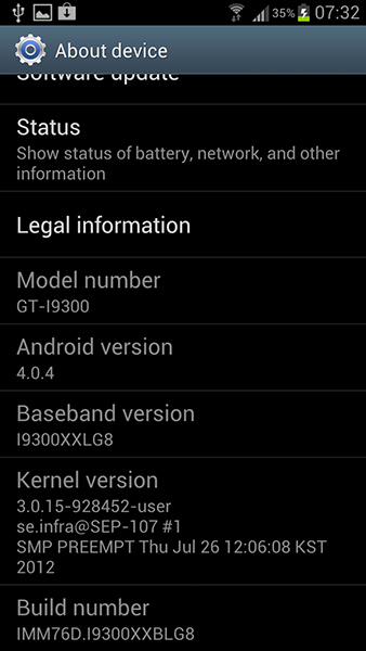Samsung begins rolling out Galaxy S III firmware update to restore universal search