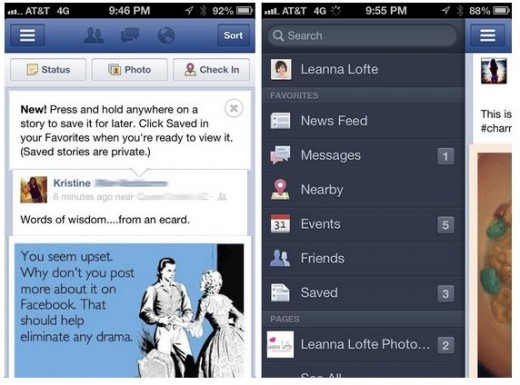 save it later 520x385 Facebook is rolling out an Instapaper style save it later feature