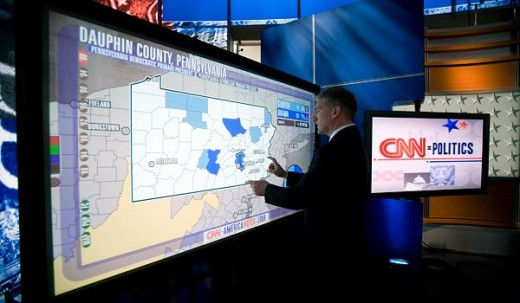 slide 4 cnn magic wall 520x303 Microsoft acquires interactive design company Perceptive Pixel to boost its multi touch technologies