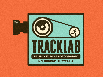 track lab logo suggestion 03 color 21 Gorgeous film logos and icons for your design inspiration