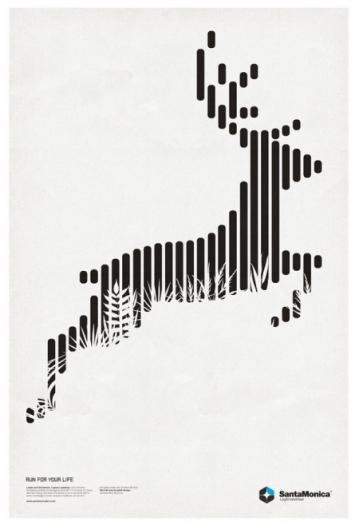 Line Graphic Design : Beautiful modern poster designs
