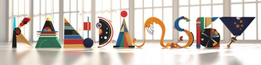 29344b905ab8b83dece3662d7c7e2b54 520x130 Design Inspiration: 21 Gorgeous experimental typefaces for your inner designer (August)