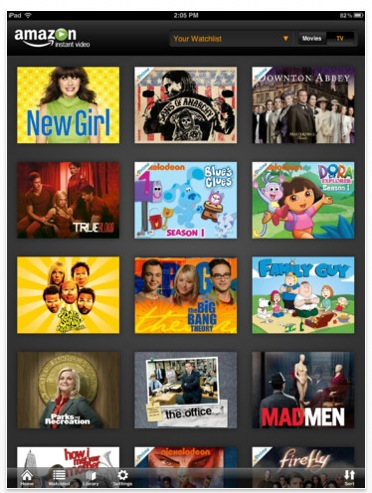 Amazon prime ipad Amazon Instant Video lands on the iPad, lets users download content for offline viewing
