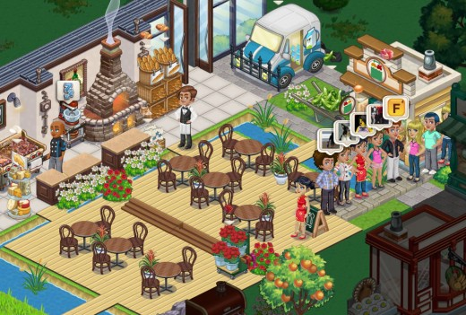 ChefVille Customers In Line 520x351 Inside Zynga and the making of its next hit, ChefVille