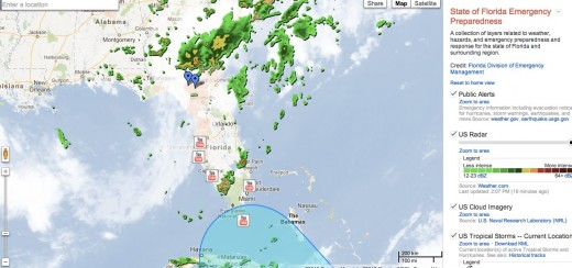 Convo 131 520x244 Google updates its emergency preparedness map for Tropical Storm Isaac in Florida