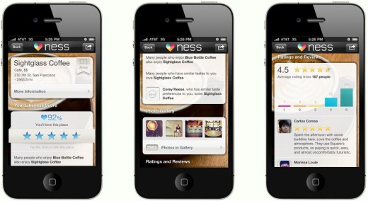 Ness1 520x284 Ness lands $15m to make search personal across categories like food, movies and more