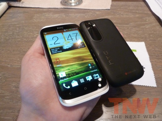 P1020358wtmkwtmk 520x390 HTC introduces the Desire X, its new 4 inch, 1GHz dual core, mass market Android smartphone