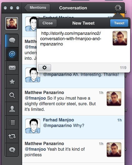 Screen Shot 2012 08 13 at 10.50.49 AM Tweetbot for Mac Alpha 5 brings drafts, keyword muting, Storify and Gifs, final version for Lion