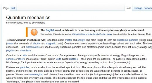 Simple1 520x286 Did you know about this little Wikipedia trick? Swap en with simple in the URL
