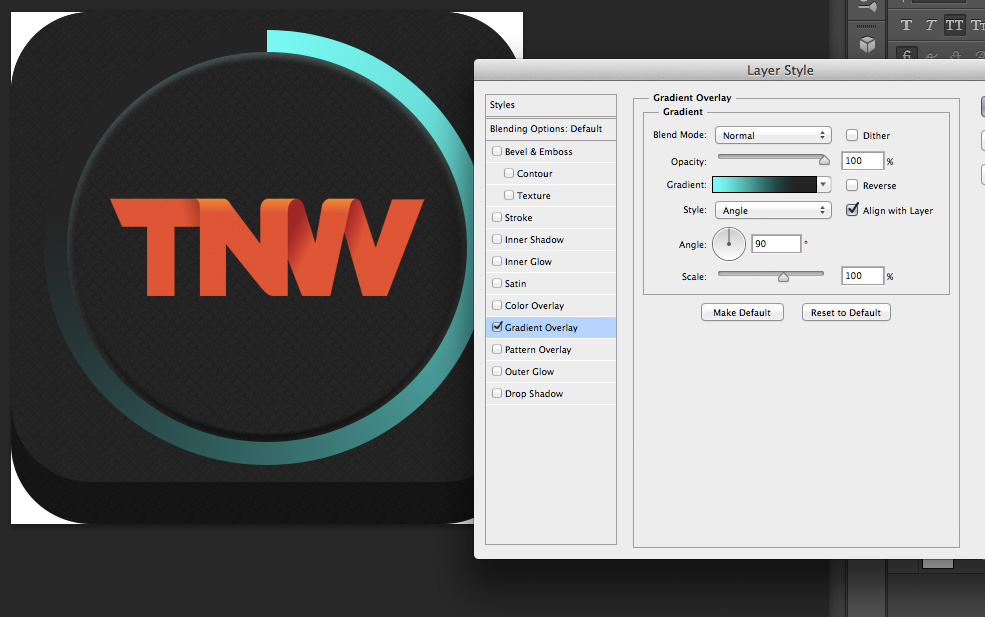 TNWTron SC10 How to create an awesome Tron inspired app icon