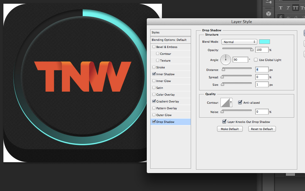 TNWTron SC12 How to create an awesome Tron inspired app icon